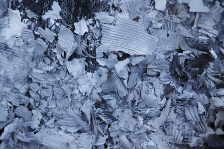 ash: Ash after burning trash Stock Photo
