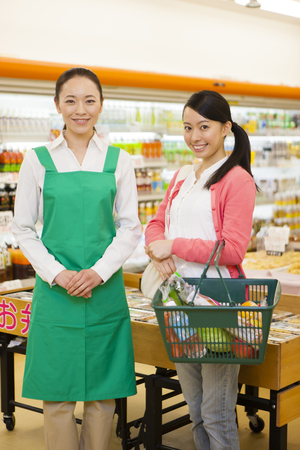 clerks: Women of the female clerks and shoppers