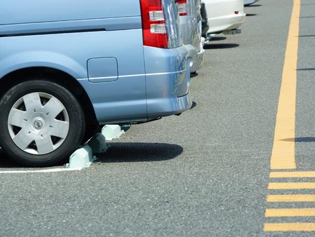 passenger car: Passenger car parking Editorial