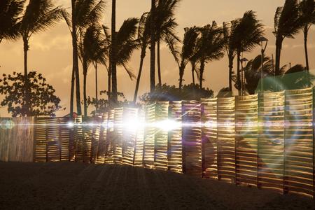 waikiki beach: Evening of Waikiki Beach