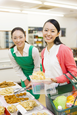 Women who buy deli