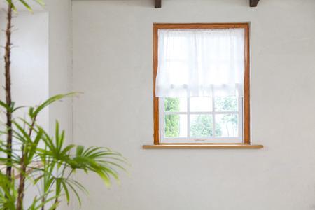 a detached living room: Bedroom window