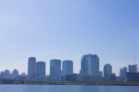 kita: Territory from the cluster of buildings in Osaka