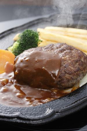 hamburger steak: Hamburger steak