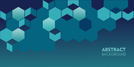 Elegance pattern abstract navy blue background for parallax effect scrolling landing page. Illustration