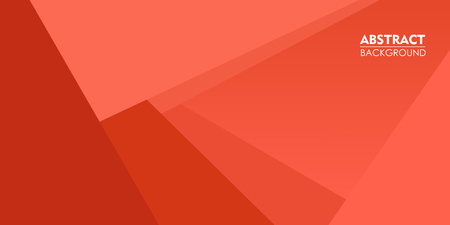 Elegance pattern orange coral abstract background for parallax effect scrolling landing page. Illustration