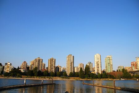 Summer landscape in North Vancouver, BC Canada photo