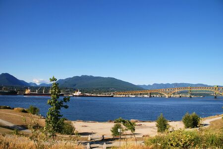 amazing stunning: Summer landscape in North Vancouver, BC Canada Stock Photo