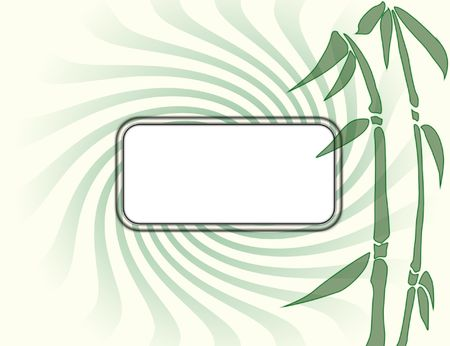 Think of green card Stock Photo - 5490029