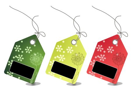 Colorful sales price tags Stock Photo - 5598907