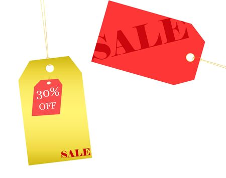 Retail sale price tags for every shopping season Stock Photo - 5598920