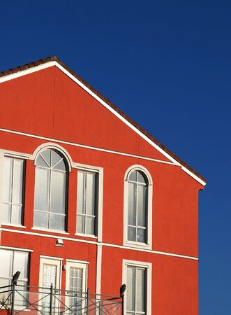 Beautiful apartment building with blue sky Stock Photo - 5647064