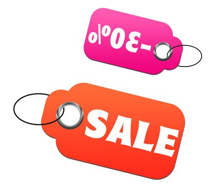 Sale and discount tags Stock Photo - 5689981