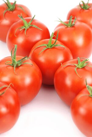 Fresh tomatoes pattern photo
