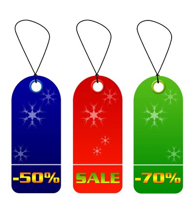 Colorful sale and discount tags Stock Photo - 5725254