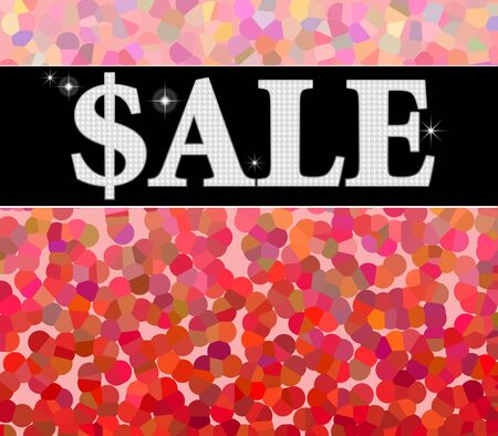 Sale sign with colorful background Stock Photo - 5725259