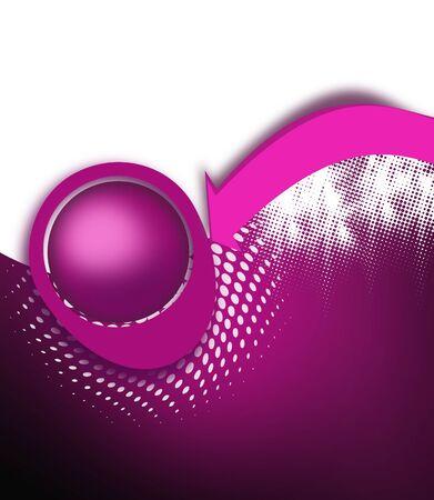 swerve: Purple arrow background