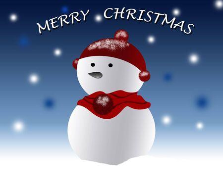 Merry christmas poster Stock Photo - 5920986