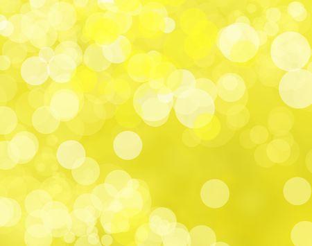 refraction of light: Beautiful yellow blur light background Stock Photo