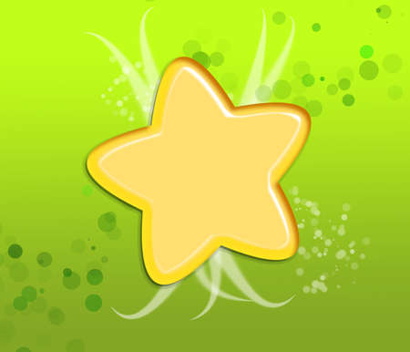 Star and blur light background