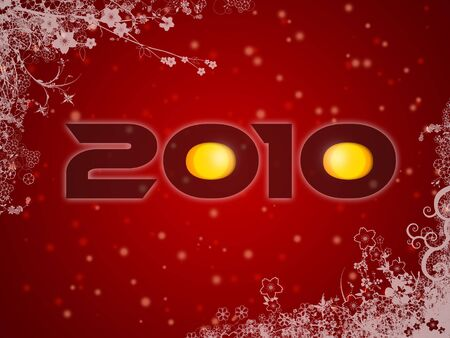 2010 christmas style poster  photo