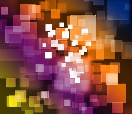 square: Abstract colorful square background