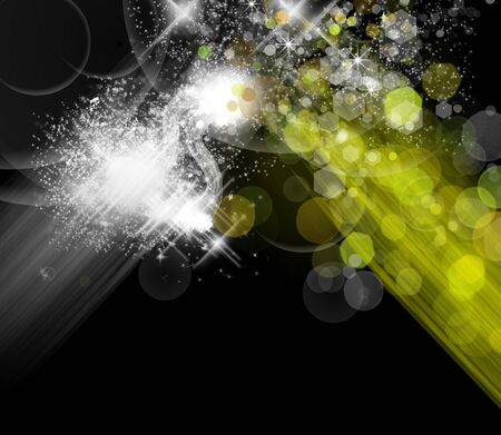 Abstract colorful light background Stock Photo - 6224490