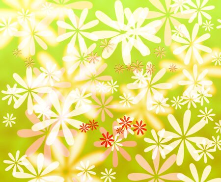 Abstract colorful flower background  photo