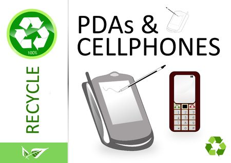 finite: Please recycle pda and cellphone
