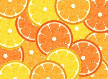 Abstract slice citrus fruits background  photo