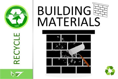 Please recycle bouw materialen
