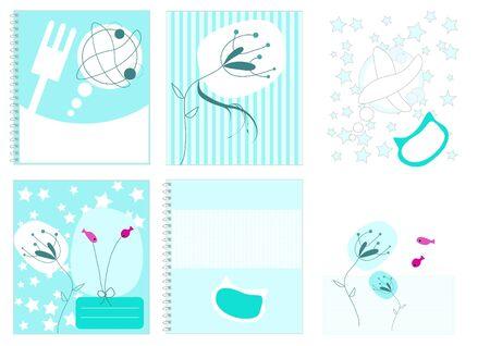 Cute fish notebook photo