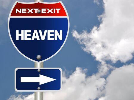 Heaven road sign Stock Photo - 7543921
