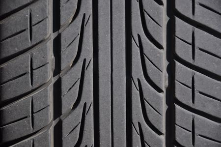 car tire: Close-up car tire