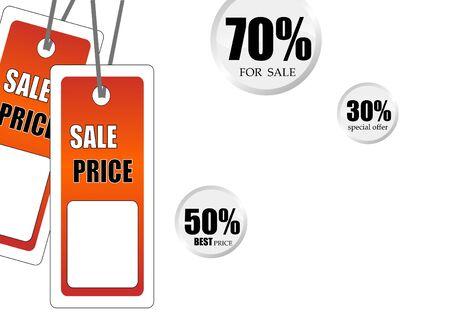 best: Best season for shopping poster  Stock Photo