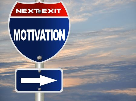 Motivation road sign Stock Photo - 7697512