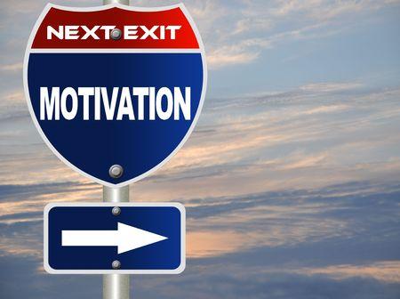 Motivation road sign Stock Photo - 7697512