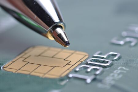 New chip cred card Stock Photo - 7858534