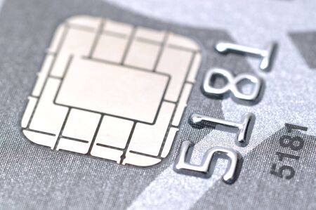Macro Business chip card Stock Photo - 7947448