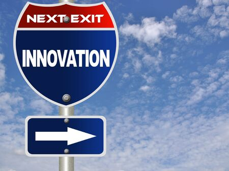 Innovation road sign Stock Photo - 7947446