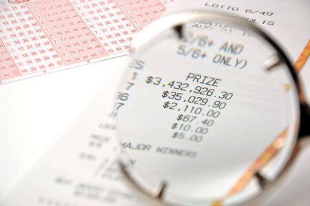 Close-up winning number