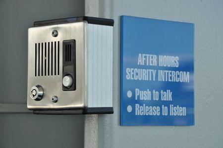 Security intercom