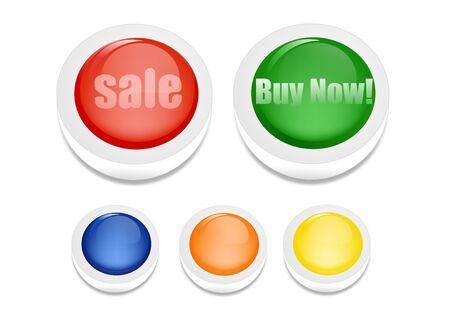 Sale and buy now button Stock Photo - 8087806