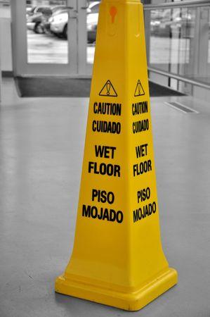 Caution sign Stock Photo - 8122934