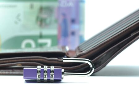 Abstract unlock your wallet Stock Photo - 8184763