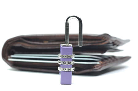 Abstract unlock your wallet Stock Photo - 8184762