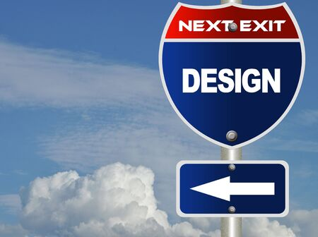 Design road sign  Stock Photo - 8184766