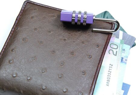 Abstract unlock your wallet Stock Photo - 8263848