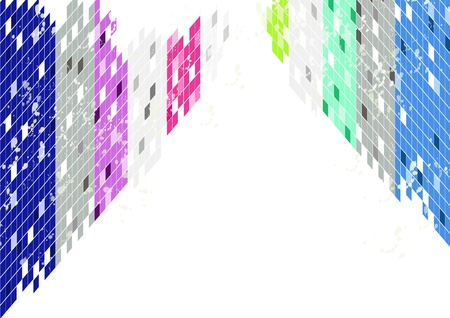 square: Abstract square background