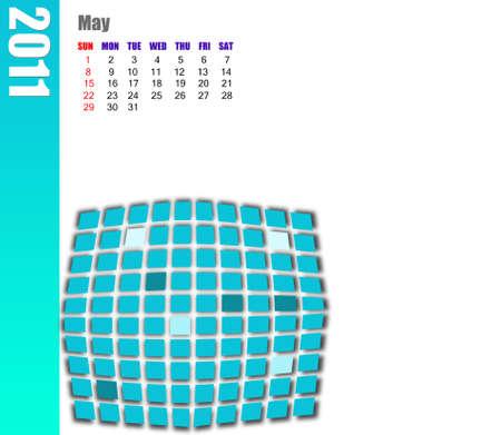 scheduler: May of 2011 Calendar